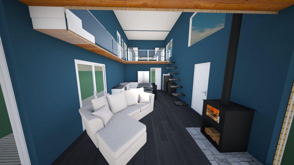tiny house design ideas 3D