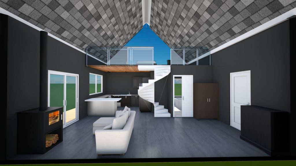 Rethinking Our Tiny House Floor Plan Design Gable Roof Marisa Alyse