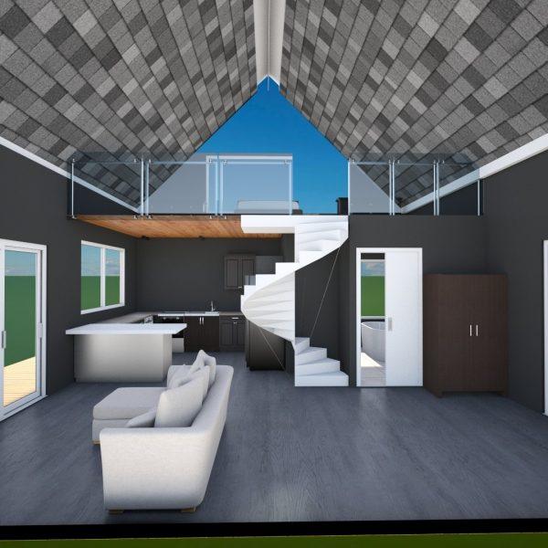 tiny house floor plan design