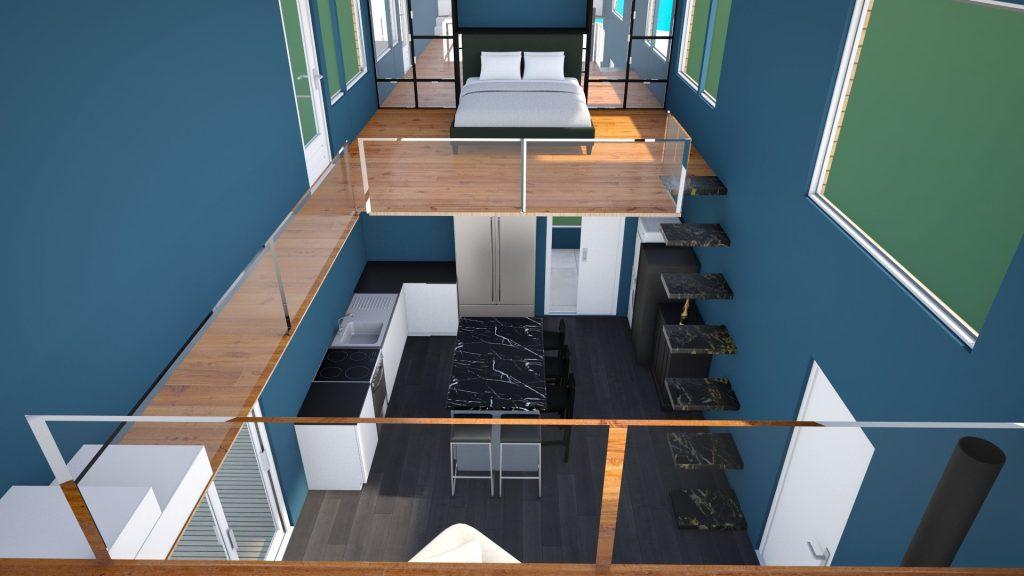 tiny house inspiration 3D