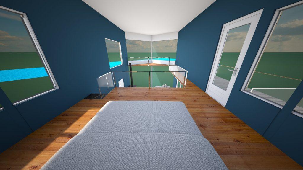 tiny house interior sketchup