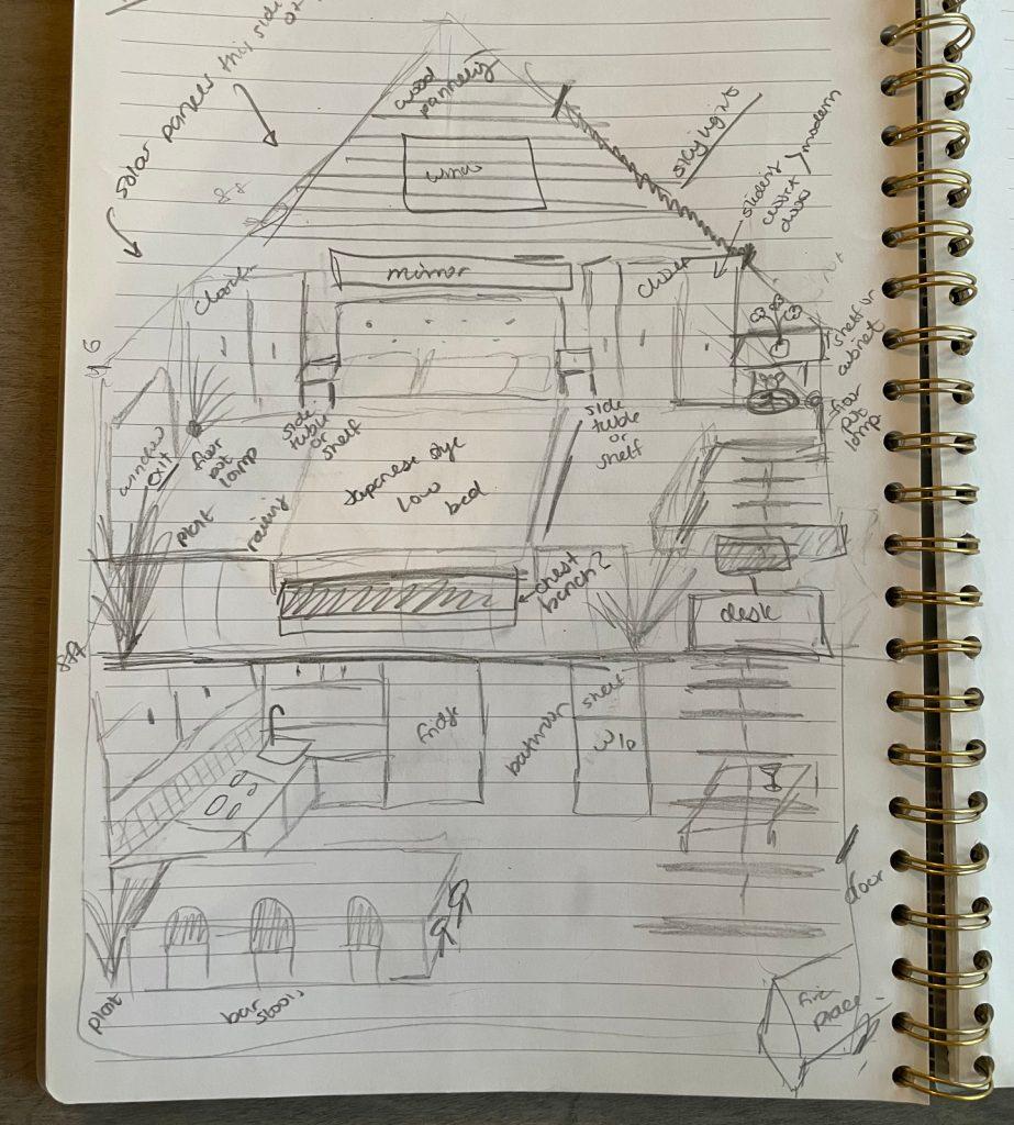 tiny house sketch